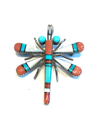 Zuni inlaid dragonfly