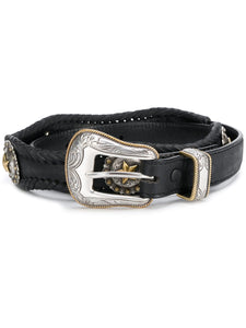 Embellished concho belt