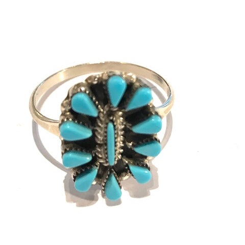 Small Zuni Cluster Ring
