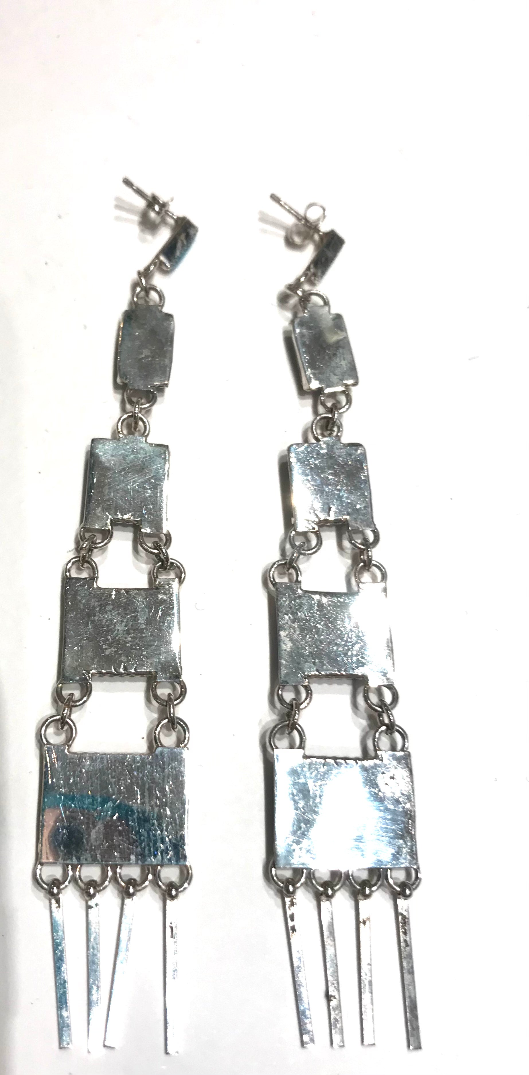 Zuni long earrings