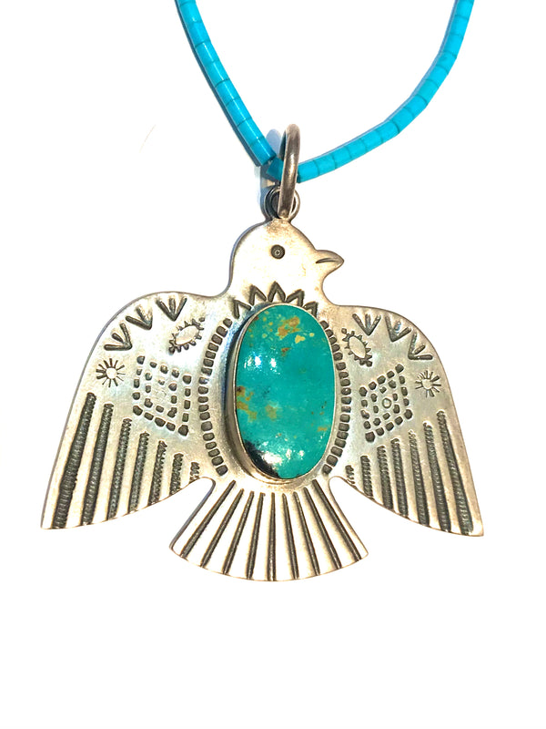 eagle pendent Navajo made in Arizona