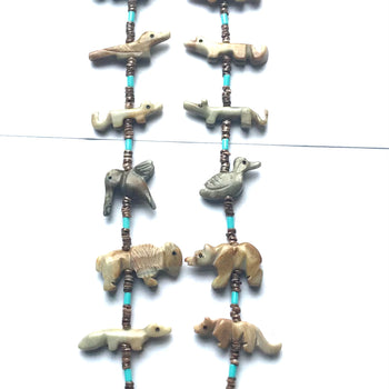 Medicine Bear power animal necklace