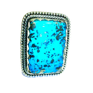 Large amazing Navajo turquoise ring