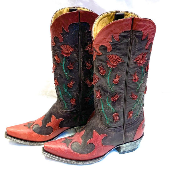Jessie Western limited edition cowboyboots