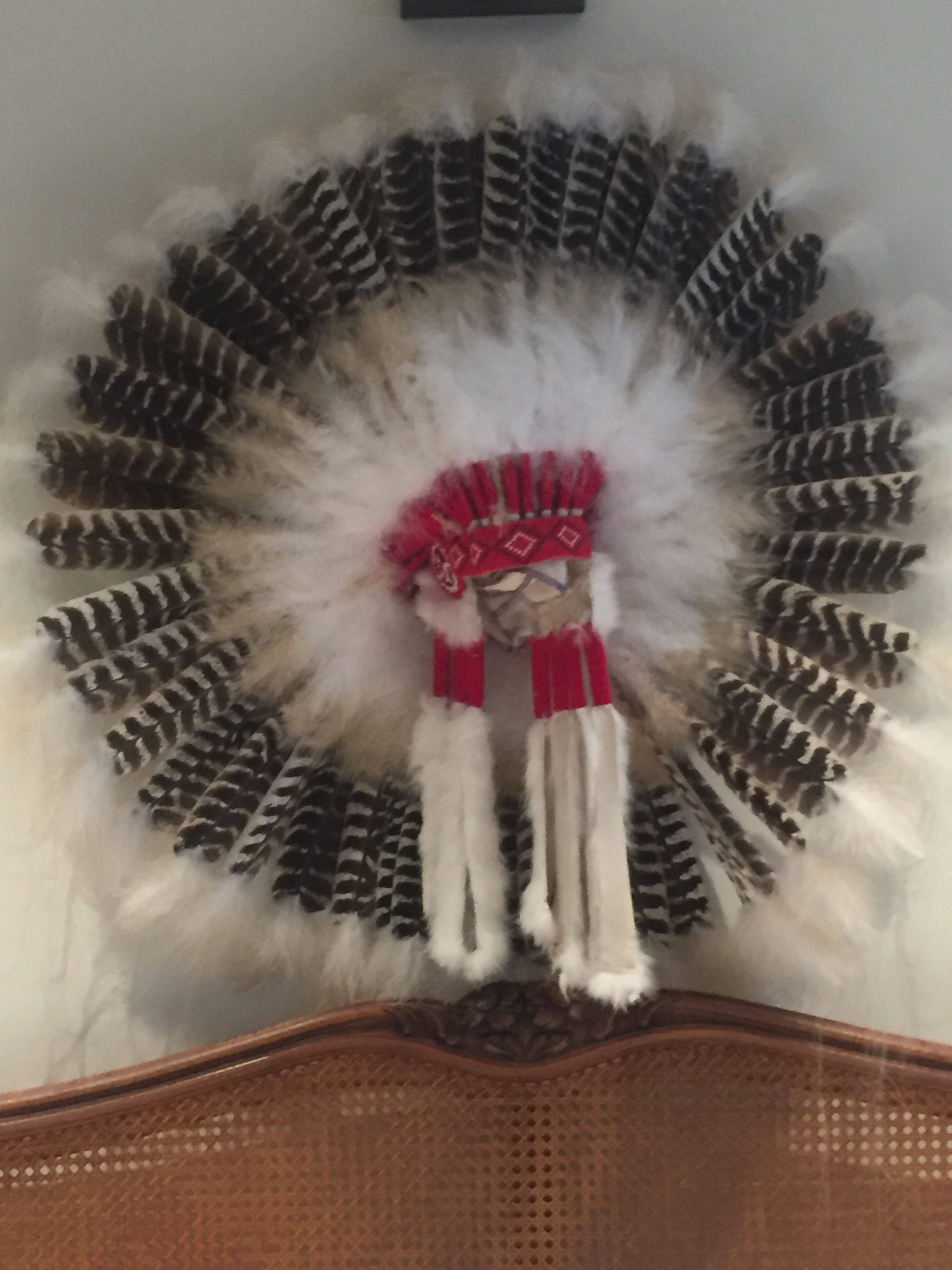 Navajo made headdress