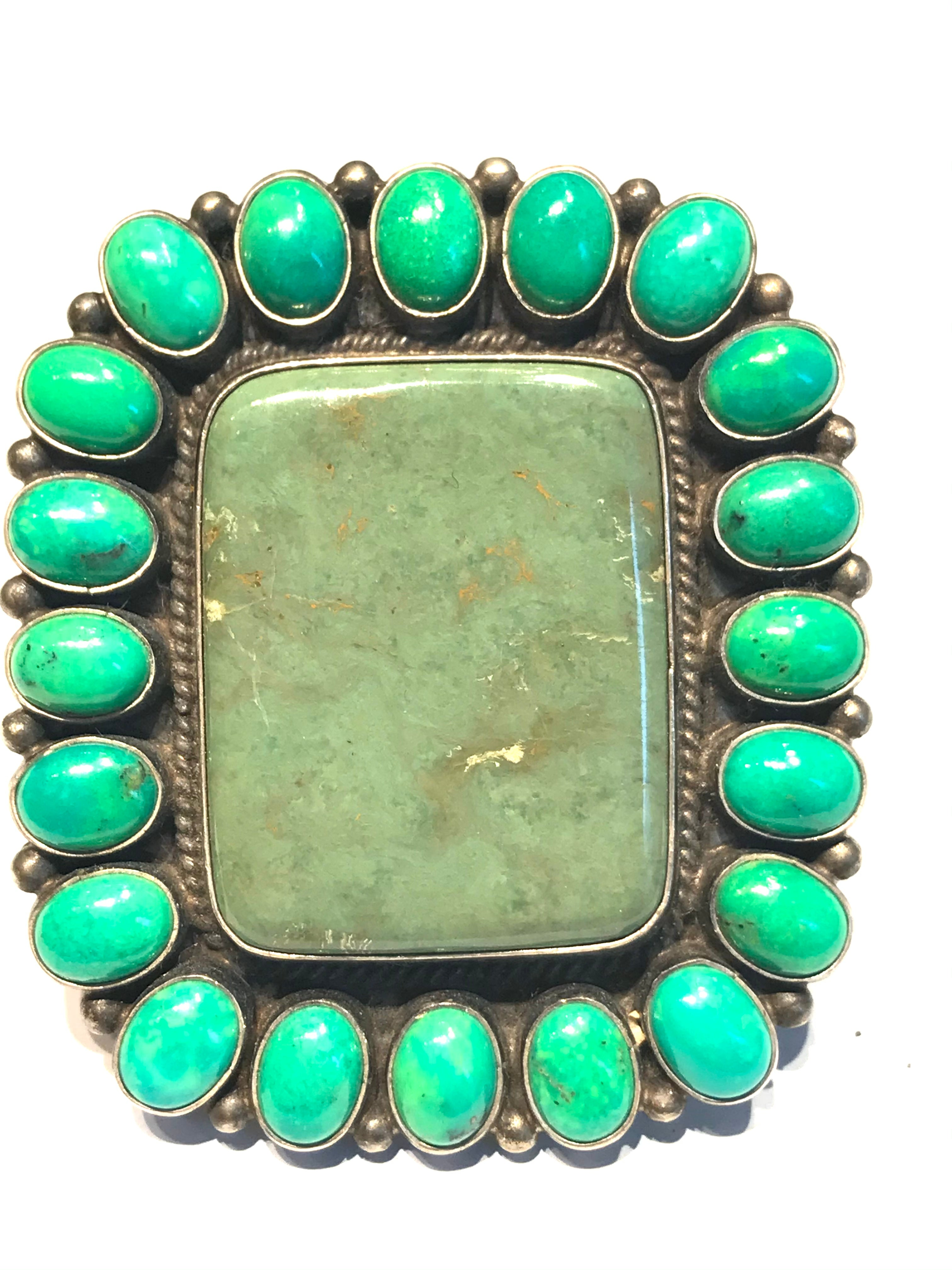Mojave dessert turquoise large ring