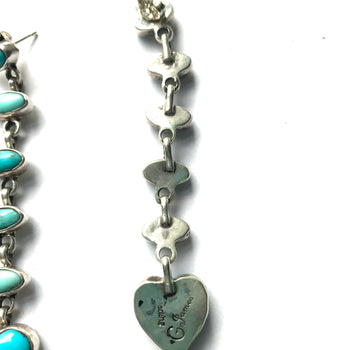 Amazing long heart earrings