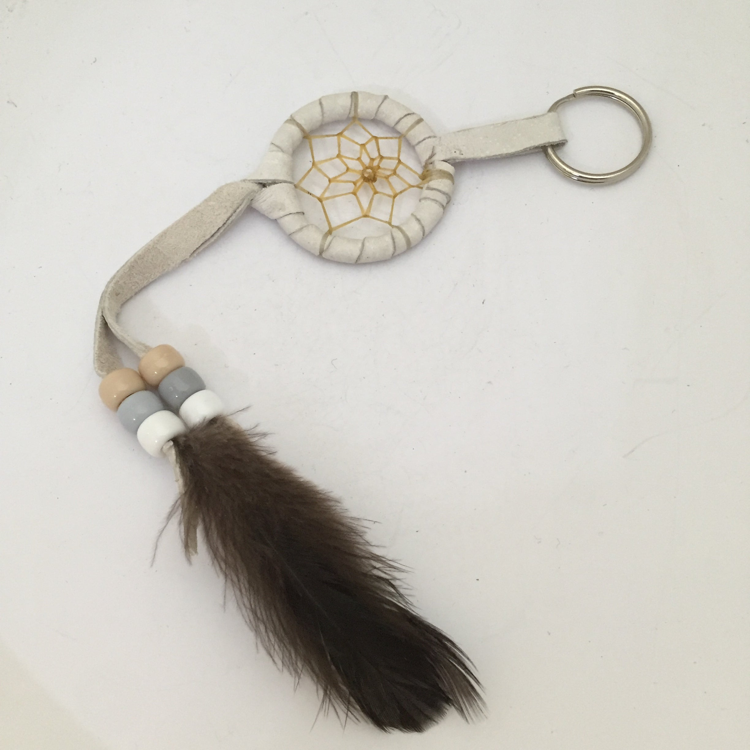 Dream catcher key ring