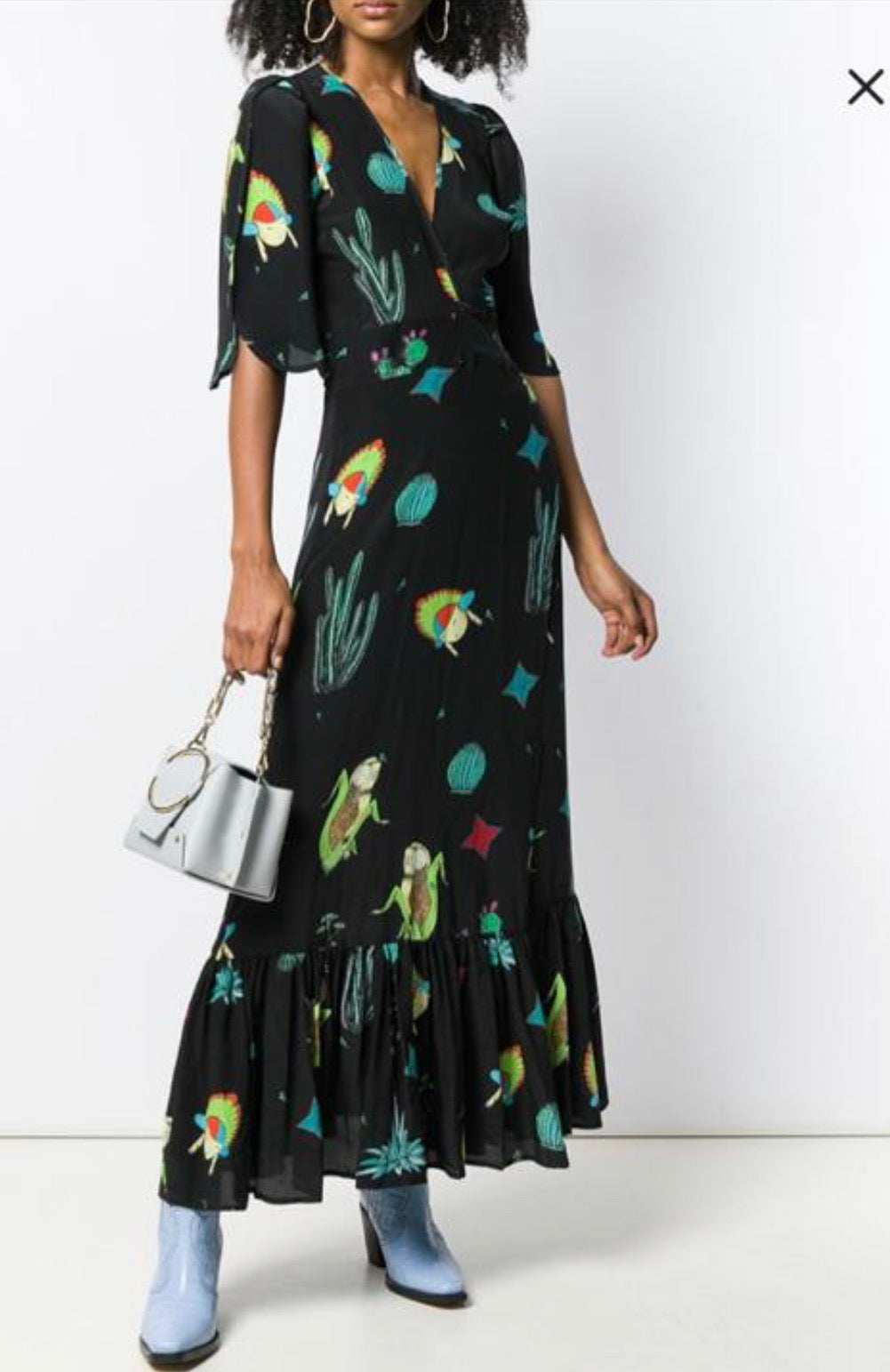 Jessie western cactus /corn maiden dress