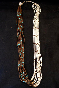 Santo Domingo Heishi Beaded Necklace