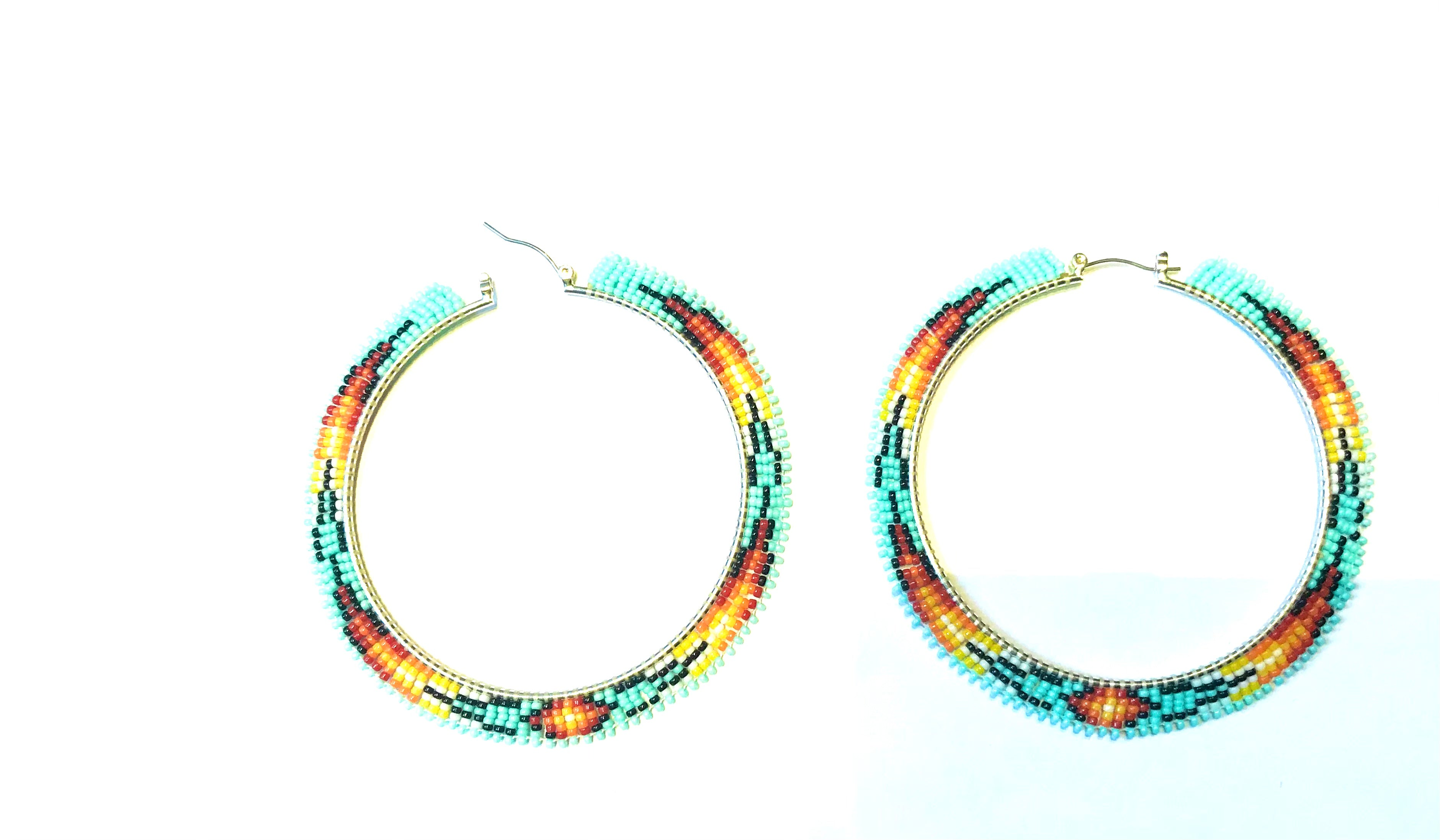 Super large hoops Navajo