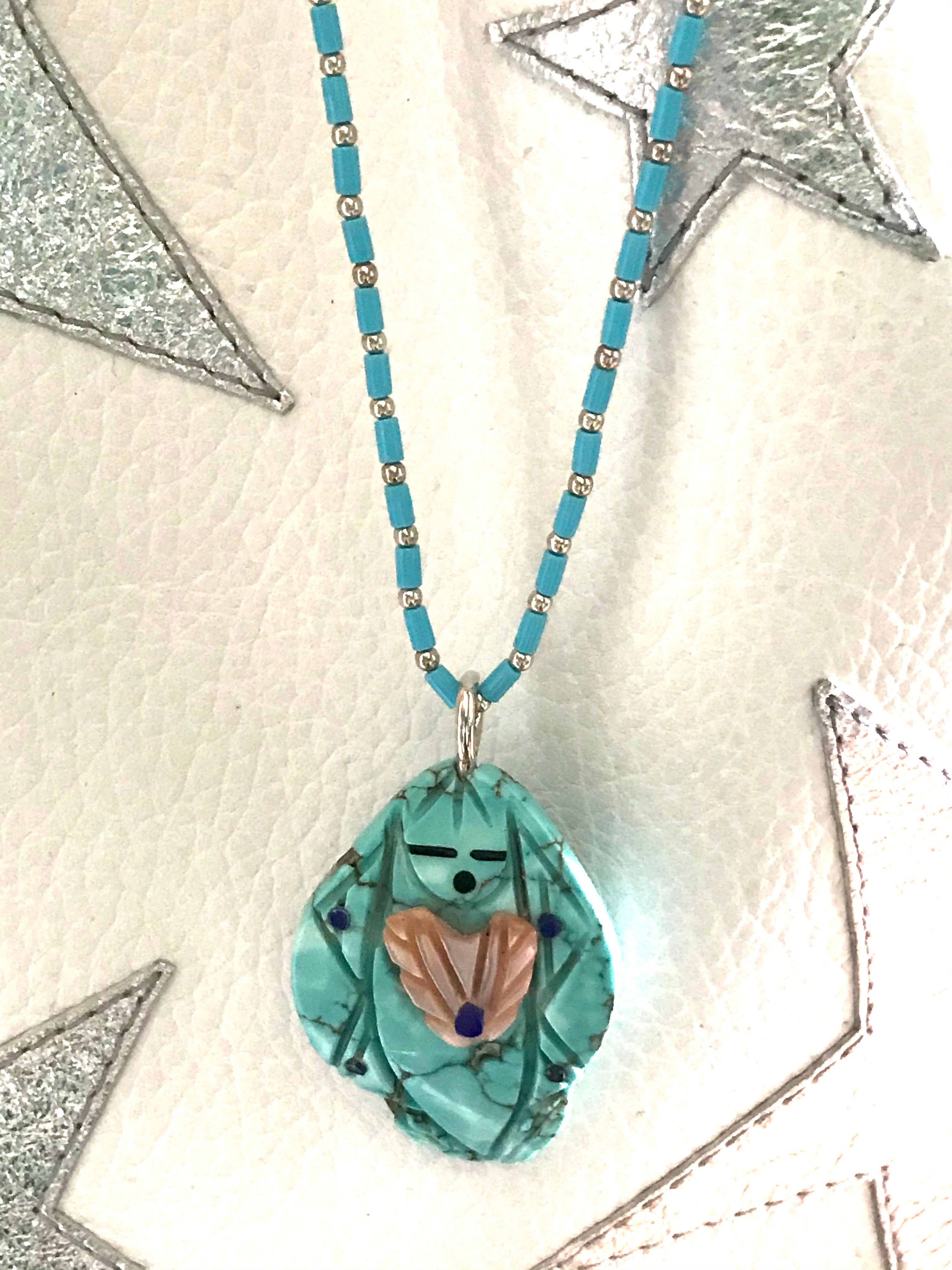 Corn maiden necklace , power animal necklace