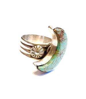 Moon ring Navajo