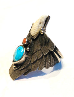 Navajo Eagle ring