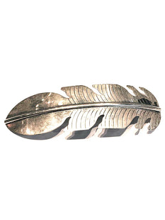 large sterling silver   hair clip