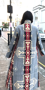 Jessie Western long coat made in Nottinghill