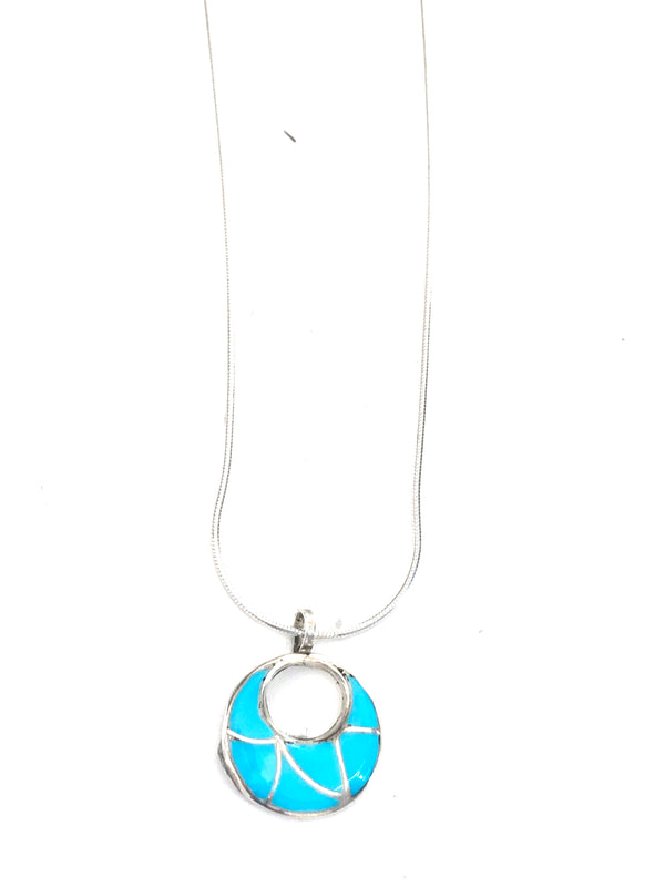 Turquoise pendent