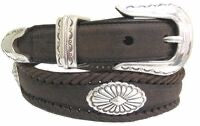 Black concho belt