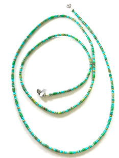 amazing quality long turquoise strand