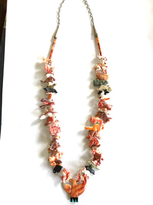amazing spiny oyster shell power animal necklace