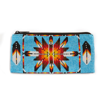 Jessie Western Morning Star Beaded Pouch
