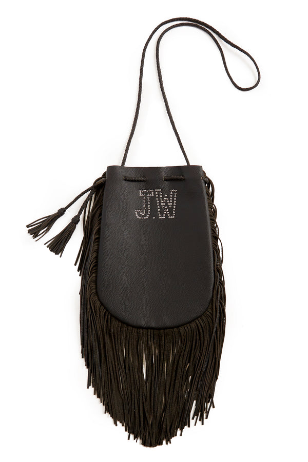 Jessie Western Fringed Buffalo Leather Bag