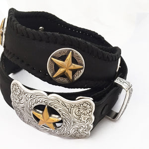 Star belt and buckle