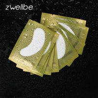 50pairs/pack New Paper Patches Eyelash Under Eye Pads Lash Eyelash Extension Paper Patches Eye Tips Sticker Wraps Make Up Tools