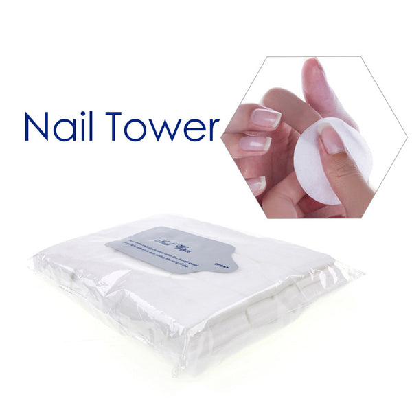 Hot Sale 900PCS/Lot Nail Tools Bath Manicure Gel Nail Polish Remover Lint-Free Wipes 100%Cotton Napkins For Nails Nail art Tool