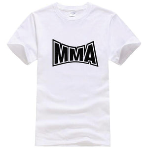 Summer Mens Cotton Short Sleeve Mma TShirt Men Muhammad Ali T Shirts Men'S Tops Tee Camisetas