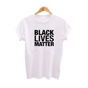 Black Lives Matter Tshirt Women Street Harajuku Punk Rock Hip Hop Women Clothing Summer T Shirt Black White Big Size