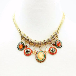 Clearance GoodsTribal Vintage Jewelry Dance Necklace Gold Necklace Belly Dance Jewelry Accessories