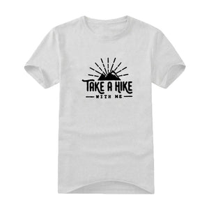 Mens T Shirts Take A Hike With Me Hip Hop Tshirt Men Streetwear Mens Clothing Summer Men Clothes Camiseta
