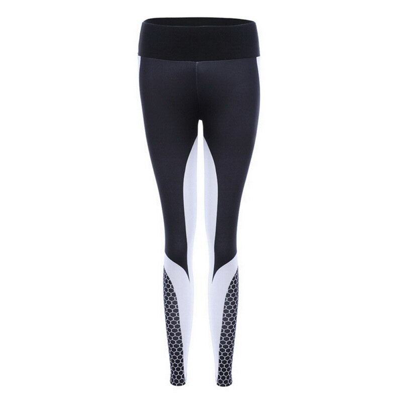 Women'S Fitness Yoga Pants Printing High Waist Workout Leggings Women Sports Pants Breathable Legging Pant
