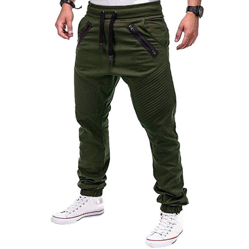 Men'S Running Pants Man With Pocket Football Trousers Male Sweatpants Joggers Sports Pants Trousers Large Size