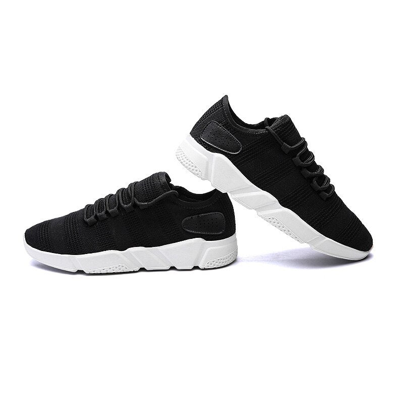 Air Mesh Running Shoes Men Ourdoor Walking Shoes Breathable Sneakers Athletic Sports Entertainment Shoes Summer