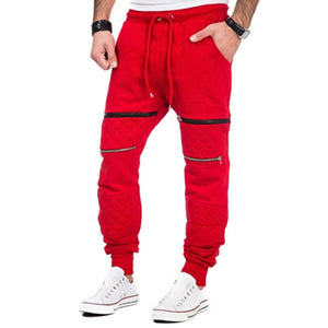 Loose Athletic Football Soccer Pants Men Fitness Running Pants Workout Solid Sweat Joggers Trouser Leggings