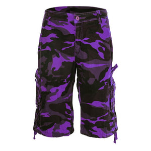 Camouflage Hiking Shorts Men Running Shorts Summer Sporting Loose Underpants Fitness Running Bodybuilding Workout Shorts