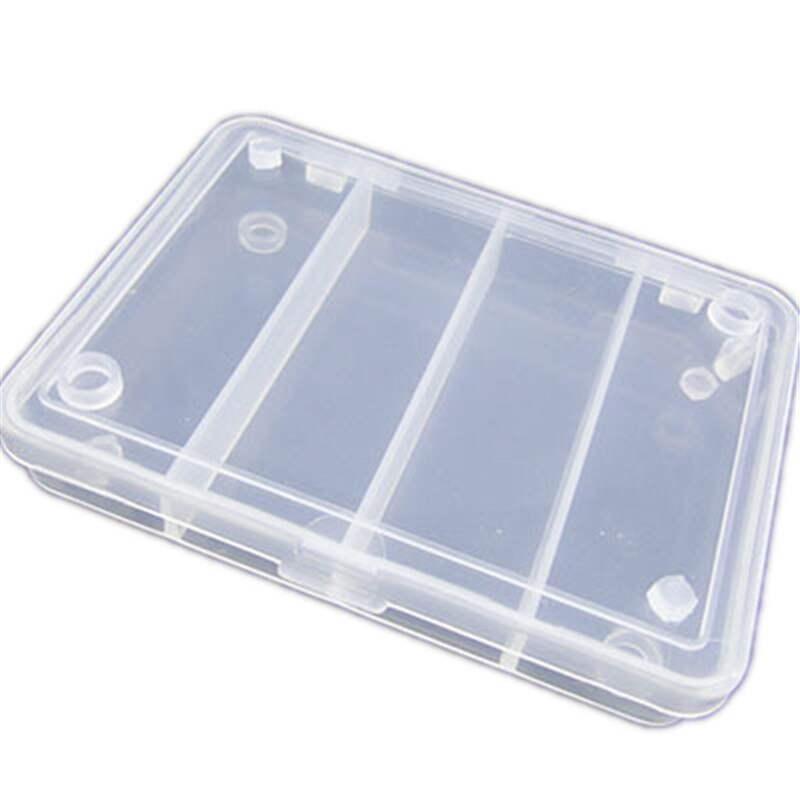 Detachable Transparent Pp Plastic Box Hook Fishing Accessories Jewelry Loose Beads Accessories Hardware Storage Box