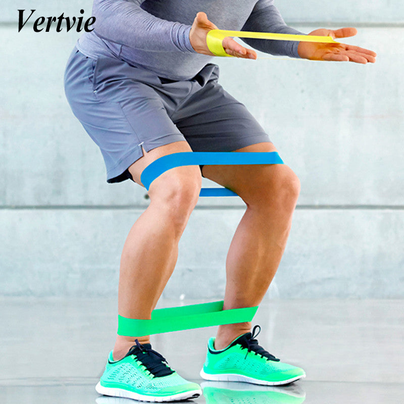 Vertvie Fitness Equipment Loop Stretch Elastic Resistance Band Pull Up Physic Resistance Band Gym Bodybuilding Training