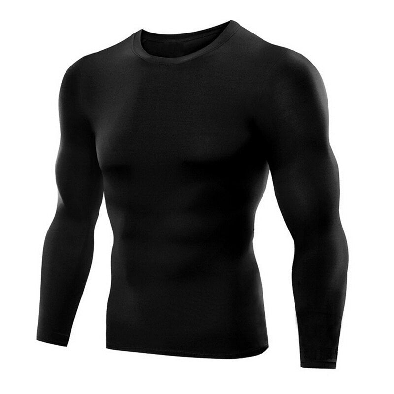 Men Sport Running TShirts Men'S Fitness Shirts Sports Outdoor QuickDrying HighElastic Wicking Breathable Tights
