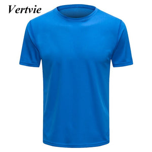 Men Quickly Dry Running Shirts Men'S Sportswear TShirts Compression Fitness Vests Running Gym Vest