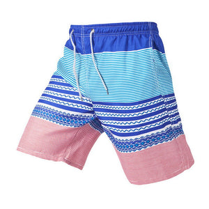 Men'S Beach Shorts Loose Swimming Trunks Shorts Cool Men Swimwear Board Shorts Patchwork Trunks Swimming Trunks