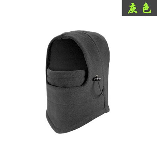 Outdoor Cycling Caps Men Women Full Face Mask Bike Sports Unisex Cycling Hats Solid Color Fleece Winter