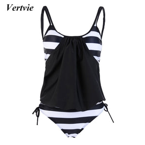 Women TwoPiece Swimwear Sriped Bathing Suit Beachwear Sling Halter Beach Bathing Suits Cool Soft Biquinis