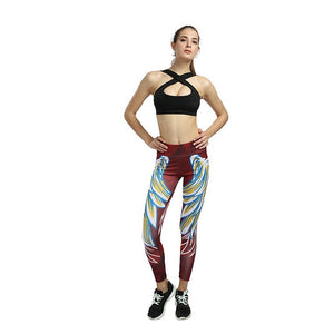 Yoga Pants Women High Waist Yoga Leggings Running Gym Thights Summer Sportswear Fitness Elastic Jogger Slim Yoga Leggins