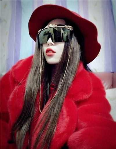 Winter Mink Faux Fur Coat Long Jacket Plus Size Thick Warm Casual Outerwear High Imitation Mink Fur Parka