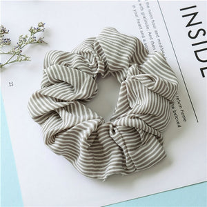1PC 2019 Women Spring Elegant Elastic Hair Bands Ponytail Holder Scrunchies Tie Hair Rubber Band Headband Lady Hair Accessories
