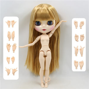 1/6 bjd ICY factory blyth doll bjd naked doll normal and joint body bjd 30cm hands AB as gift