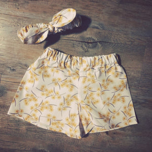 Wattle Girls Shorts